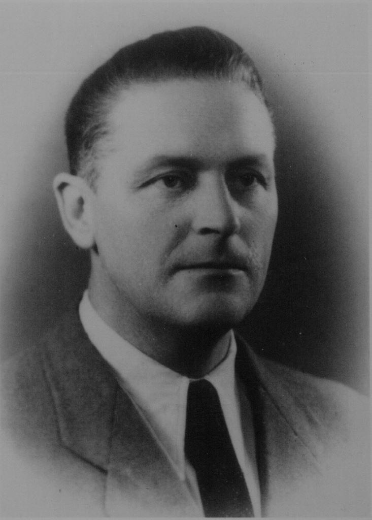 Leopold Charkiewicz, ojciec autorki wspomnień. Ze zbiorów Danuty Charkiewicz-Topolskiej