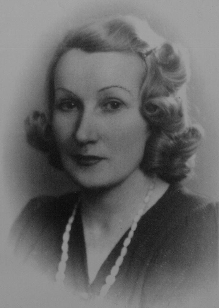 Irena Charkiewicz z domu Luśniak. Ze zbiorów Danuty Charkiewicz-Topolskiej
