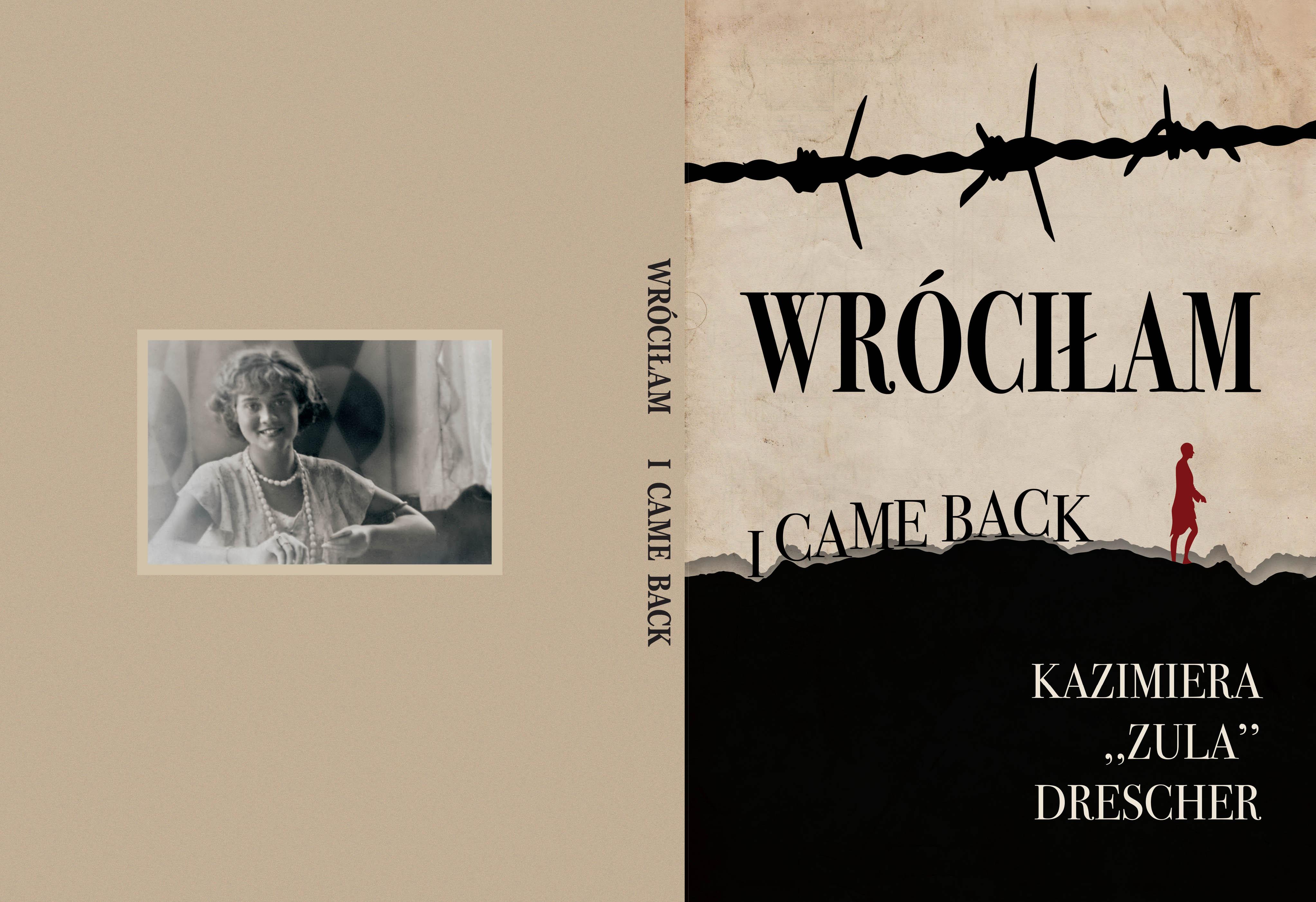 K. Drescher, Wróciła, okładka