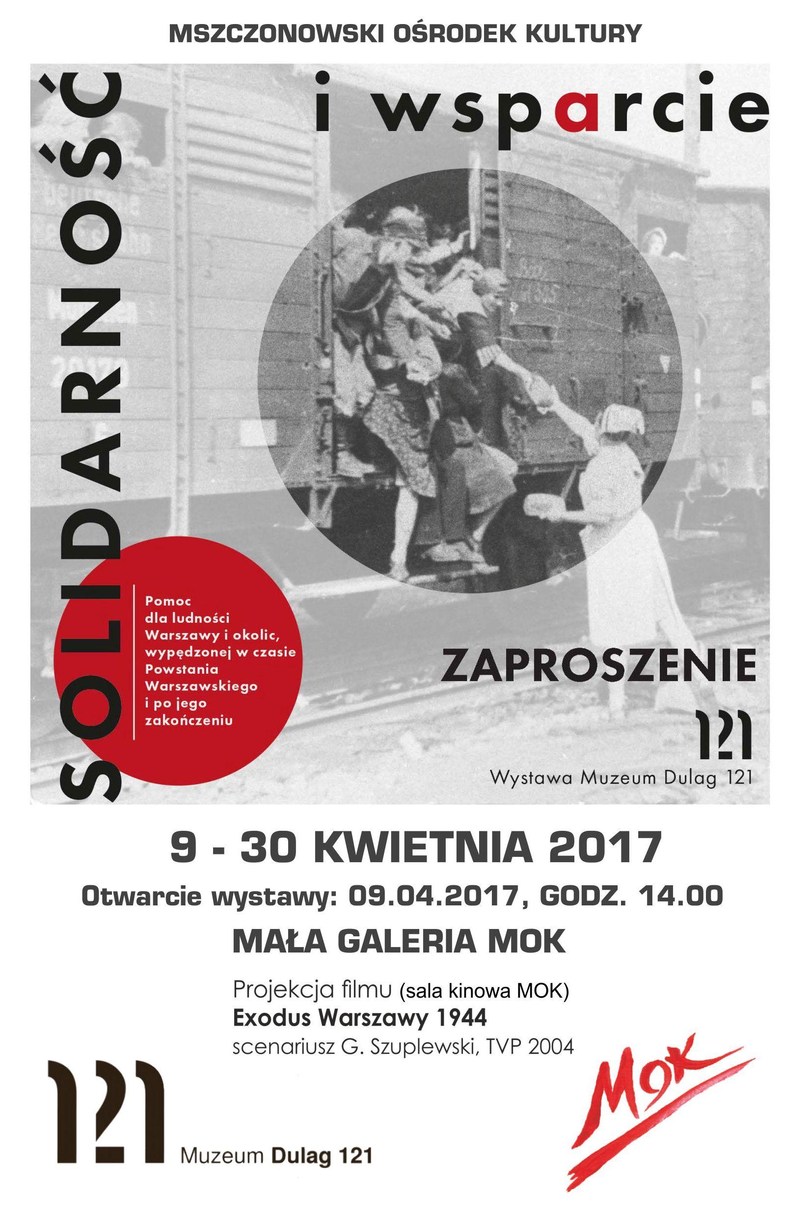 """wystawa """"Solidarność i wsparcie"""" w Mszczonowie"""