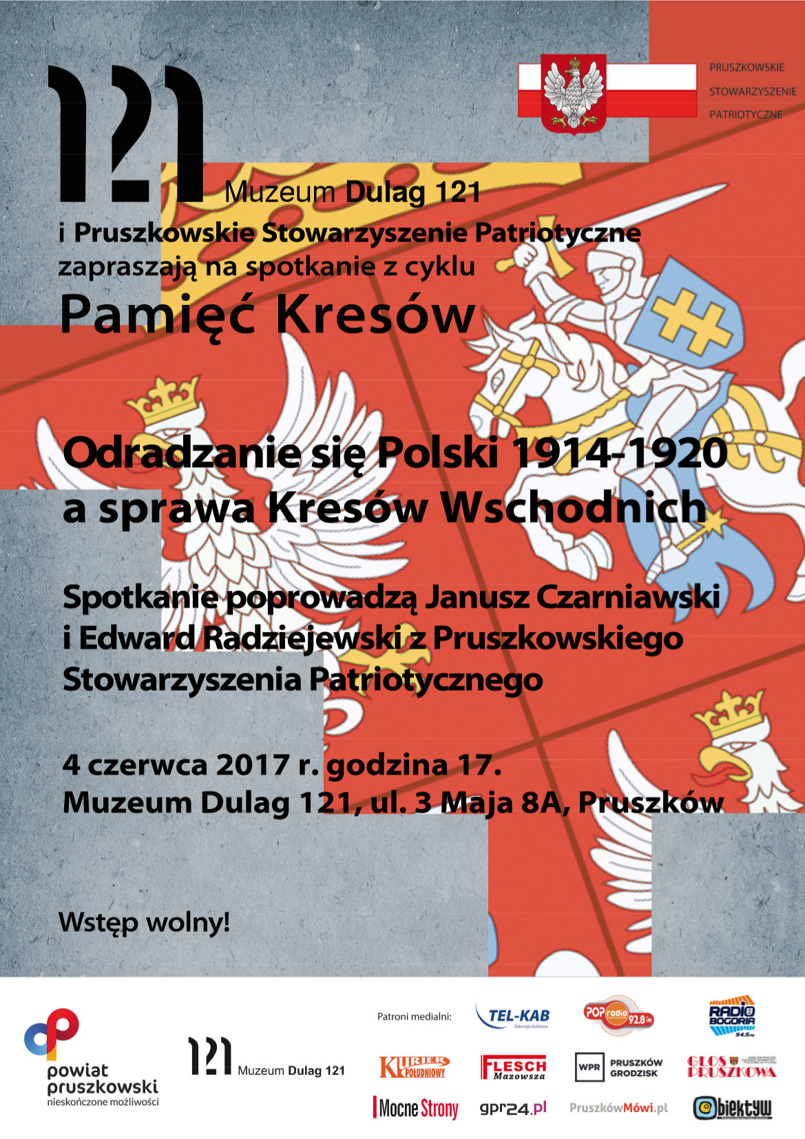 Plakat Pamięć Kresów 4 VI 2017